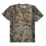 Jungle camouflage cotton short-sleeved T-shirt