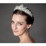 Korean-style crown bridal headwear