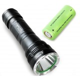 L2 bright flashlight / 26650 rechargeable flashlight