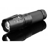 L2 focusing Waterproof Rechargeable LED Flashlight
