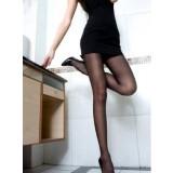 Ladies core-spun silk ultra-thin pantyhose - new Sweet filar socks