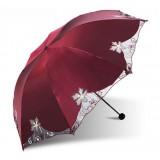 Language of flowers UV protection sun umbrella