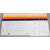 Laptop keyboard protector for Toshiba L650 L650D L750D X505 C655