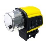 Large capacity automatic aquarium feeder
