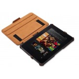 Leather Case with stand for kindle fire HD 7
