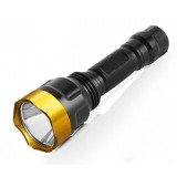 LED Rechargeable bright flashlight / Outdoor Tactical bright flashlight