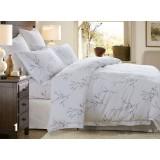 Light colored cotton satin series 4pcs bedding sheet set