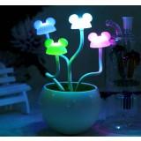 light control LED mice bonsai night lights