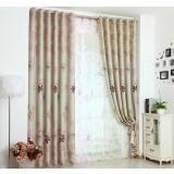 Little flowers minimalist curtains