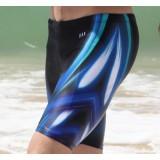Long section men swimming boxer trunks