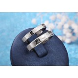 love for ever ring in sterling silver