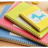 Lovely horse coil binding notebook