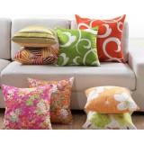Lovely light color flannel pillow