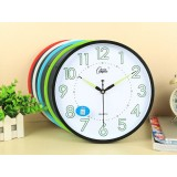 Luminous 10 inch children's room wall clock