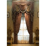 Luxury 2.8m wide embroidered curtains