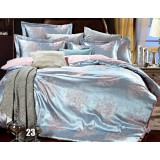 Luxury cotton satin series 4pcs bedding sheet set