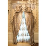 luxury exquisite embroidered curtains