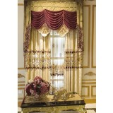 Luxury hollow embroidered curtains
