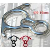 Magnesium alloy horn-shaped climbing equipment