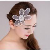 Magnolia flower Bridal hair accessories