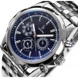 Men discoloration mirror automatic mechanical watch