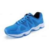 Men lightweight serpentine soles mesh sports shoes