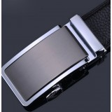 Men's automatic first layer of pure authentic leather men's belts