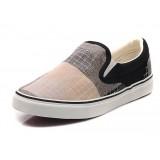 Men's case grain canvas shoes