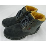 Men's high -cut warm martial arts shoes