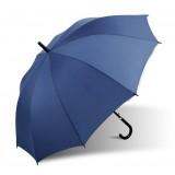 Men's semi - automatic curved handle umbrella