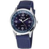 Men's silicone strap casual quartz watch