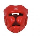 Microfiber leather Kickboxing face guard helmet