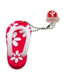 Mini cartoon slippers usb flash drive