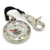 Mini metals compass with keychain