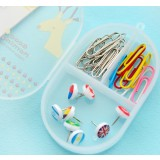 Mini plastic sundries storage box