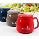 Minimalist 360ml ceramic mug set