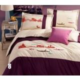 Minimalist 4pcs pure cotton bedding sheet set