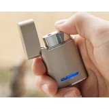 Minimalist alloy windproof lighter