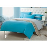 Minimalist cotton series 4pcs bedding sheet set
