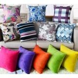 Minimalist flannel pillow