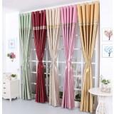 Minimalist polyester cotton fabrics curtains