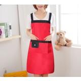 Minimalist sleeveless waterproof kitchen aprons