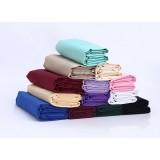 Minimalist solid color tablecloths