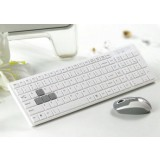 Minimalist wireless keyboard and mouse set