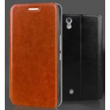 Mobile phone leather case for ZTE Q705U