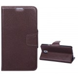 Mobile phone Leather Case with stand for Samsung note3