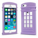 Mobile phone silicone case for iphone 5 / 5s