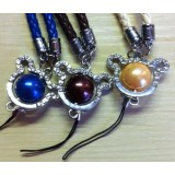 Mobile phone Straps with round ball