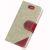 Mobile phone woven cloth case for iphone5S
