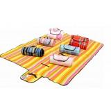 Moisture proof fleece camping mat